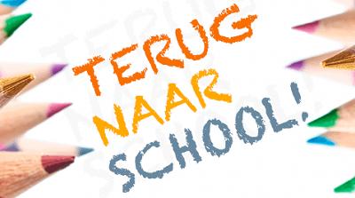 Start van het nieuwe schooljaar