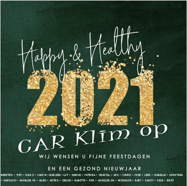 Het team van Car Klim Op wenst jullie gezellige kerstdagen